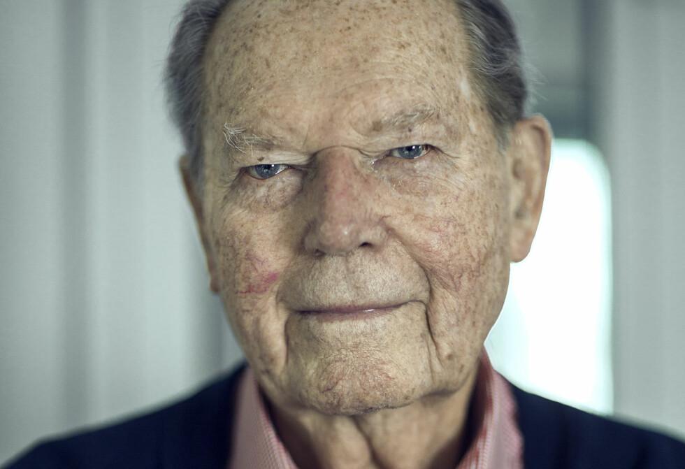 FORMET: - Krigsårene har formet meg. Jeg var 17 år og bare guttungen i 1940, sier Erling Lorentzen.