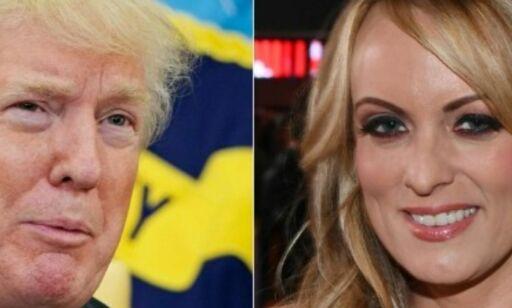 image: Donald Trump bryter tausheten om utbetalingen til Stormy Daniels