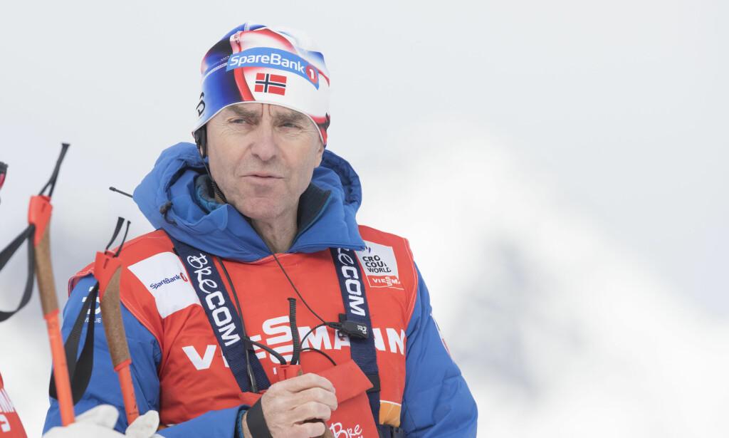 Arild Monsen fortsetter trolig som sjef for det norske springlandslaget. Foto: Terje Pedersen / NTB scanpix