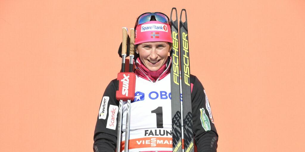 image: Marit Bjørgen legger opp