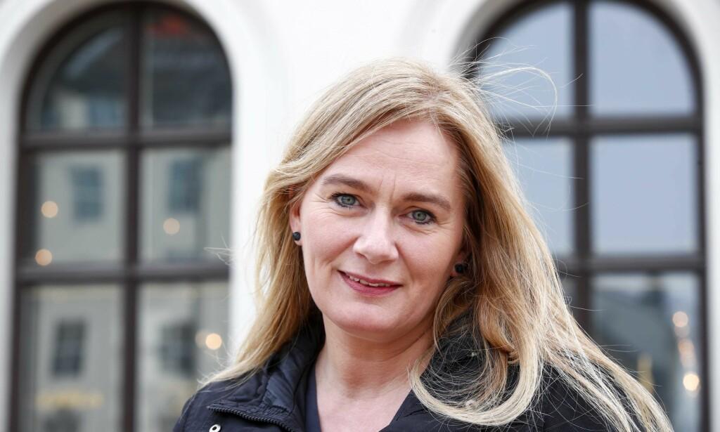 HUSJAKT: Marit Eikemos nye roman handler om en kvinne som tror lykken ligger i et nytt hus familien ikke har råd til. Foto: NTB SCANPIX