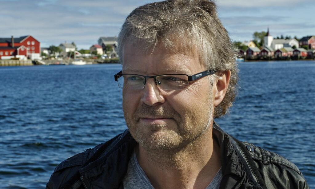 ALLER SISTE: Lofoten-forfatteren Frode Granhus døde brått i fjor høst. Nå er hans siste bok ute. Foto: ANITA ARNTZEN