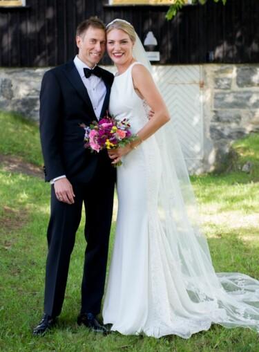 ROMANTISK: Geir Kildahl og Anna Matilda Swift giftet seg før de hadde møtt hverandre. Foto: Christine Heim / TVNorge