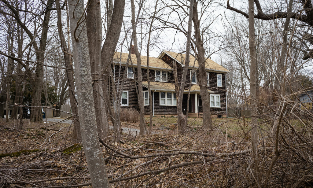 FUNNET: Beinrestene etter Louise Pietrewicz ble funnet i kjelleren i dette huset utenfor New York, hvor hennes tidligere kjæreste bodde. Foto: Heather Walsh/The New York Times