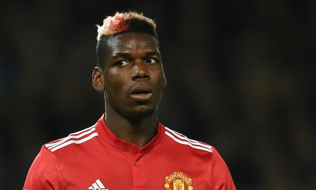 TILBUDT TIL CITY? Pep Guardiola hevder i alle fall at han fikk tilbud om å hente Paul Pogba til Manchester City i januar. Foto: AFP PHOTO / Oli SCARFF