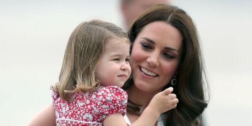 image: Prinsesse Charlotte blir historisk når Kate føder