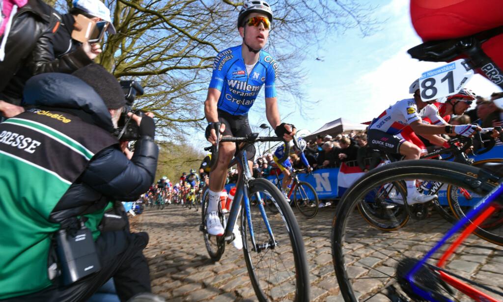 BELGIAS NYE KJÆLEDEGGE?: Sykkelkrossrytter Wout Van Aert har vært lovende denne våren. FOTO: Tim de Waele (TDWSport.com)
