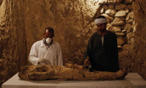 image: Fant mumie og eldgamle skatter i 3500 år gammel grav: - En eksepsjonell dag