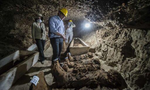 image: 17 mumier funnet i Egypt