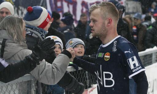 SATTE PUNKTUM: Herman Stengel scoret mot gamleklubben. Foto: Fredrik Hagen / NTB scanpix