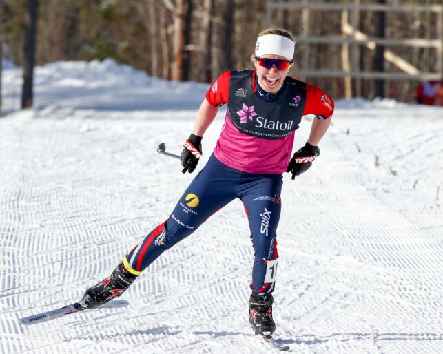 GOD TEKNISK: Fossesholm får skryt av juniorlandslagstrener Geir Endre Rogn for hennes tekniske kvaliteter. Foto: Terje Pedersen/NTB