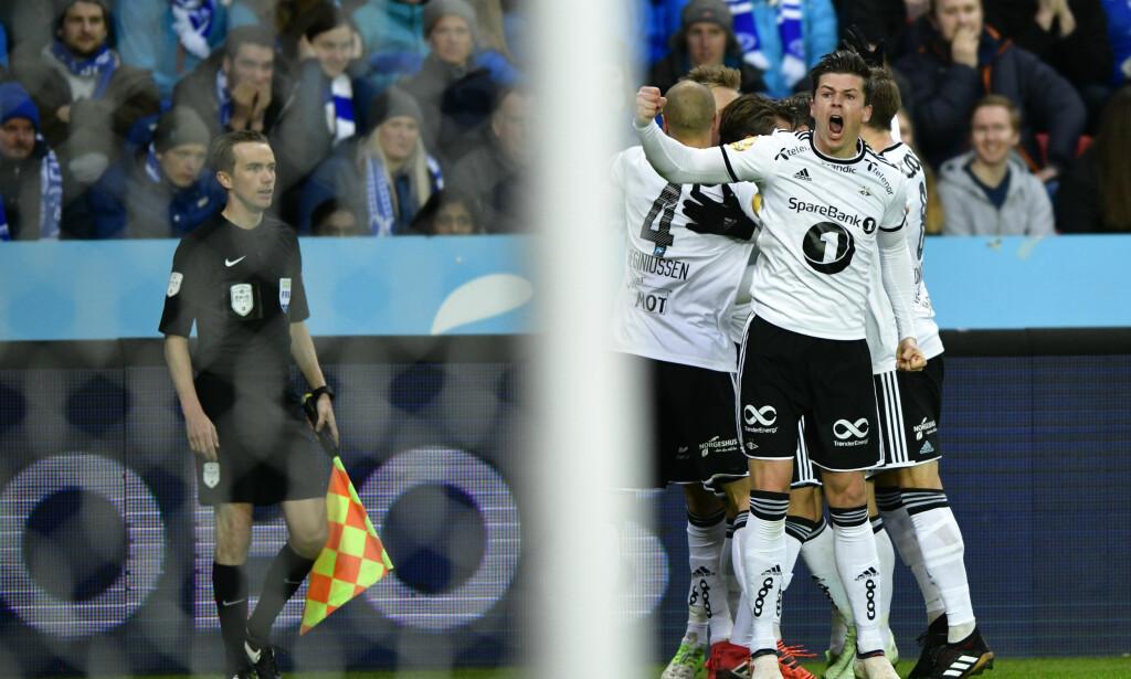 HERJET: Endelig stemte alt for Rosenborg. Foto: Ole Martin Wold / NTB scanpix