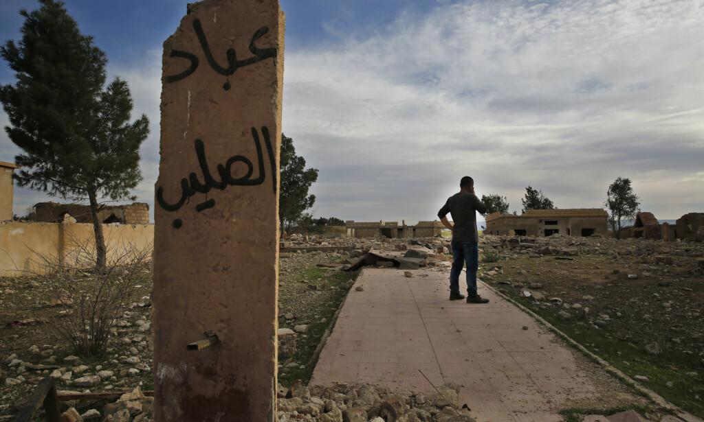 NØDHJELP: Etter drøyt sju år med krig har Syria seilt opp til å bli det største mottakerlandet av norsk bistand og nødhjelp. Foto: AP / Hussein Malla / NTB scanpix
