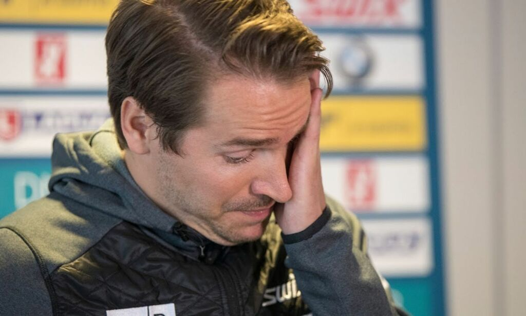 image: Gråtkvalt Svendsen legger opp: - Det er sjanseløst for min del nå