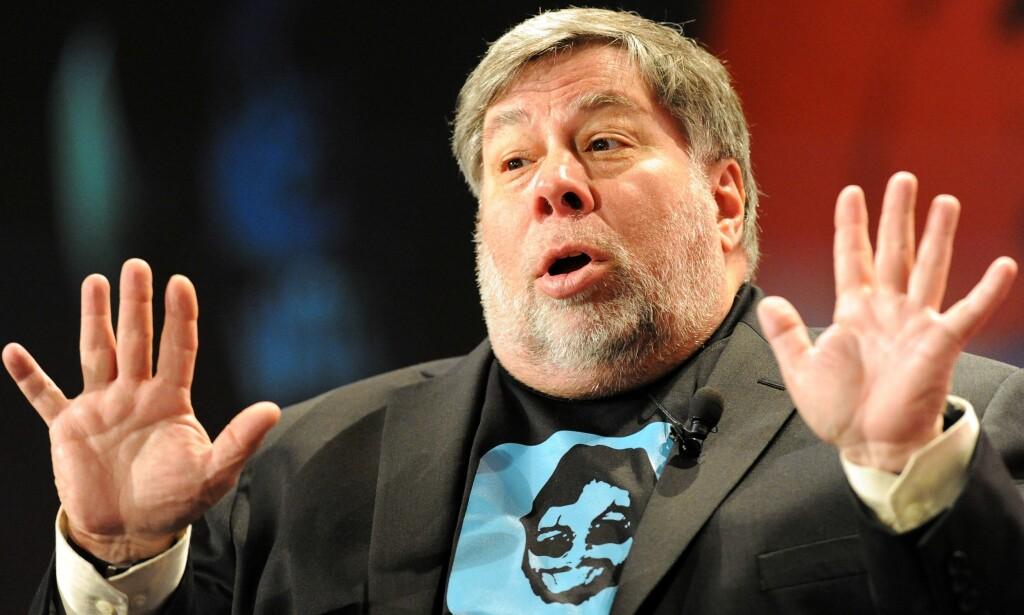 SLETTER KONTO: Medgrunnlegger av Apple, Steve Wozniak, er enda en teknologiprofil som velger å slette Facebook-kontoen sin. Foto: Scanpix