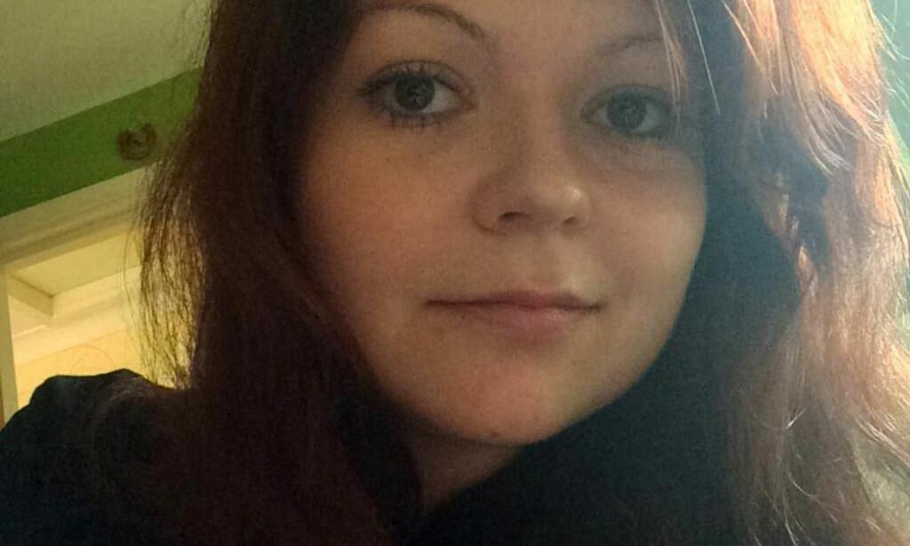 BLIR BEDRE: Helsetilstanden til Julia Skripal er markant forbedret etter at hun ble utsatt for nervegift for en drøy måned siden. Nå blir hun utskrevet fra sykehus, oppgir kilder til Sky News. Foto: Facebook via REUTERS / NTB Scanpix