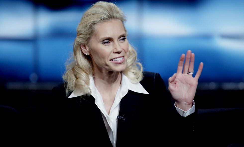 TILBAKE: Anna Anka trer på nytt inn i rampelyset, og det skjer ikke i det stille. Nå er hun på krigsstien, noe de andre damene fra «Svenske Hollywoodfruer» trolig får merke. Foto: NTB scanpix