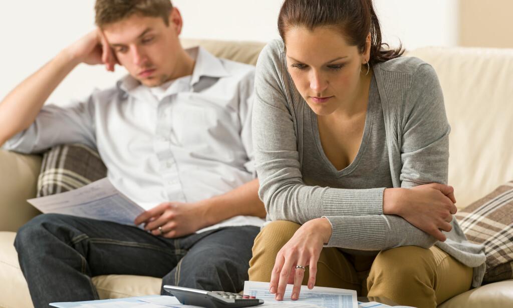 FORDÉL FELLES GJELD: Samboere med felles boliglån må passe på at begge to får med gjeldsopplysningene i skattemeldingen sine. Foto: Shutterstock/NTB Scanpix.
