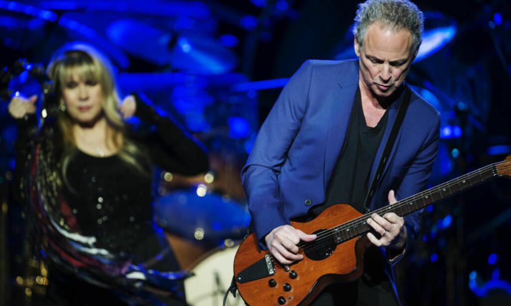 «KONGEN AV FLEETWOOD MAC»: Dagbladets anmelder beskrev Lindsey Buckingham som «kongen av Fleetwood Mack» etter bandets norgesbesøk i 2013. Foto: Benjamin A. Ward /