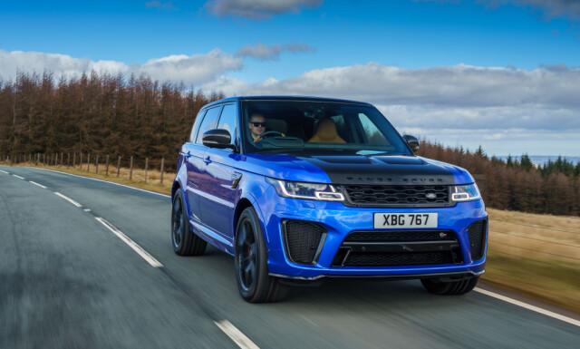 Enda TØffere Med Karbon Eksteriør Pakke Ser Range Rover Sport Ekstra Rå Ut