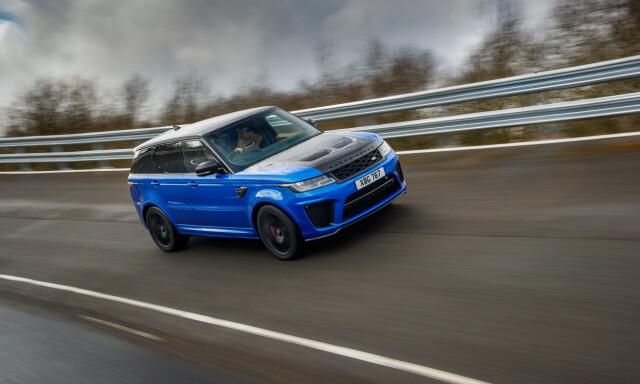 PÅ Testbane Vi Fikk Prøve Det Råeste Fra Range Rover Noensinne På Jaguar Land
