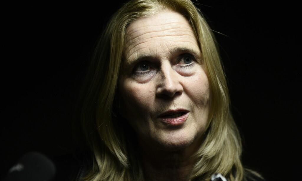 MED I AKADEMIEN: Den svenske poeten Katarina Frostenson er medlem av Svenska Akademien, og er gift med den omstridte kulturprofilen Jean-Claude Arnault. Foto: Olafur Steinar Gestsson / NTB scanpix