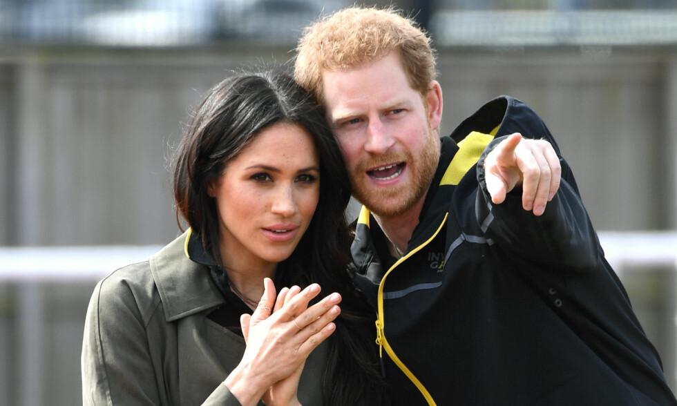 GIFTEKLARE: Det er bare en drøy måned til kirkeklokkene ringer for prins Harry og Meghan Markle. Det blir derimot uten politiske ledere til stede. Foto: NTB scanpix