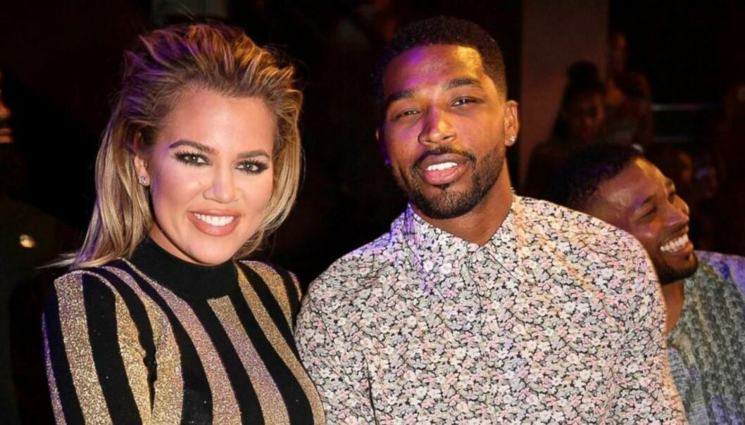 <strong>HJEM:</strong> Khloé Kardashian og Tristan Thompson skal ha gitt forholdet en ny sjanse, og nå er de visstnok på boligjakt. Foto: NTB Scanpix