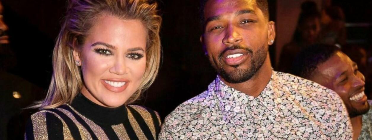 TATT PÅ FERSKEN: Basketballproff Tristan Thompson ble fanget på film mens han kysset og flørtet med ikke én, men to kvinner på en nattklubb i oktober i fjor. På den tiden var kjæresten, realitystjernen Khloé Kardashian, omtrent tre måneder på vei med parets første barn. FOTO: Scanpix