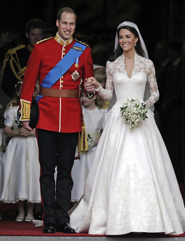 ANNERLEDES: Da prins William giftet seg i 2011, var en rekke statsledere til stede for å feire den store dagen. Slik blir det ikke denne gangen. Foto: NTB scanpix