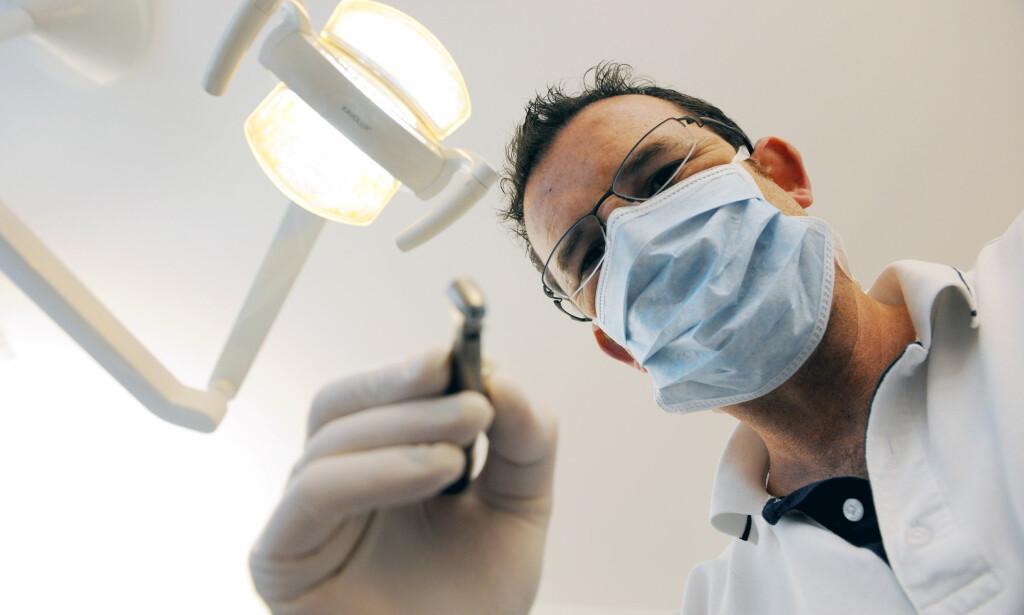 BØR DET BLI GRATIS? Tannlegen kan være en dyr visitt for mange. Det vil LO gjøre noe med.