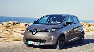 image: Vinn en splitter ny Renault Zoe