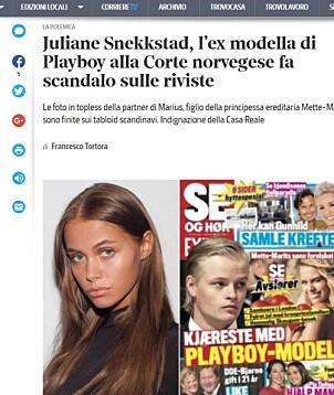 Faksimile: Corriere della Sera