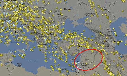 image: Ber passasjerfly holde seg unna: - Rakettene kommer