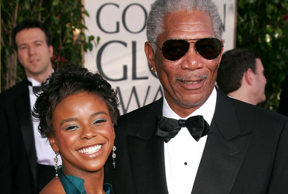 <strong>KNIVDREPT:</strong> Morgan Freemans stebarnebarn E'Dena Hines ble bare 33 år gammel. Mandag startet rettssaken mot mannen som er tiltalt for å ha drept henne på åpen gate i 2015. Foto: NTB Scanpix