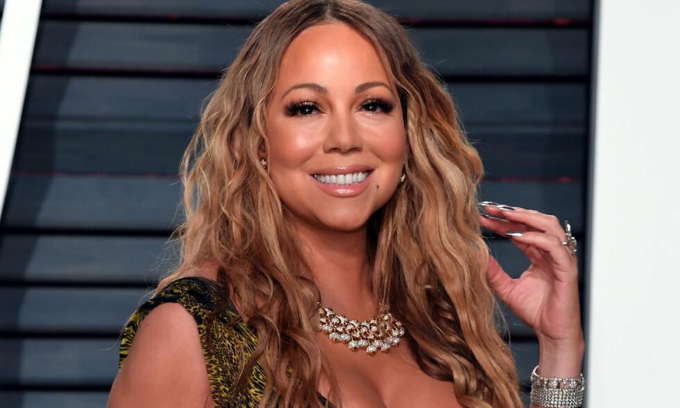STÅR FREM: Artisten Mariah Carey har slitt psykisk i all hemmelighet i nesten 20 år. Foto: NTB Scanpix