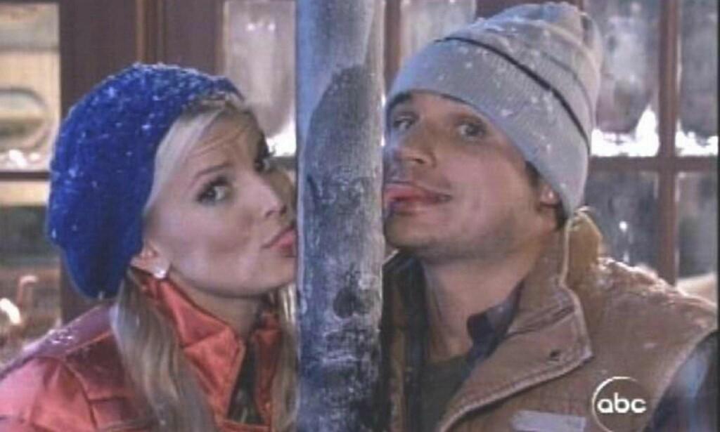 ELSKET OG HATET: «Newlyweds: Nick and Jessica» ble en enormt populær realityserie, men fikk også kritikk for å framstille hovedpersonene som i overkant uopplyste. Foto: NTB Scanpix