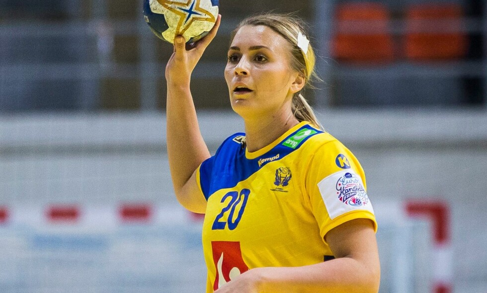STJERNE: Isabelle Gulldén har herjet på det svenske landslaget i håndball i mange år. Foto: NTB scanpix