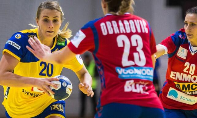 OPP OG NED: Isabelle Gulldén innrømmer at hun har svingt i vekt. Foto: NTB Scanpix