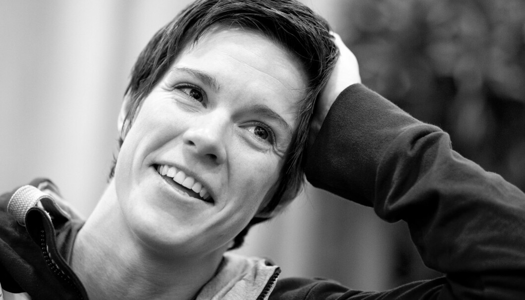 ANJA HAMMERSENG-EDIN: - Å slutte å lese nyhetene om morgenen har gjort dagens første timer mye bedre for meg - det er mer positiv energi. FOTO: NTB Scanpix
