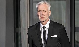 KONGEKLAR: Operadirektør Geir Bergkastet sto giv akt da kongen kom. Foto: Tomm W. Christiansen