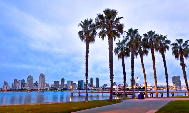 SOUTHERN CALIFORNIA: San Diego blir, naturlig nok, liggende i den nye delstaten Southern California. Foto: Dancestrokes / Shutterstock / NTB Scanpix