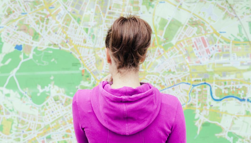 STEDSANS: Kvinner stoler ofte mer på mannens retningssans enn sin egen. Slutt med det, er rådet fra hjerneforskeren. FOTO: NTB Scanpix
