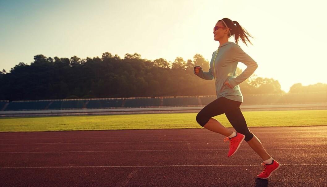 TERSKELTRENING: Når du trener på terskelfart kan du opprettholde en god fart over lengre tid. FOTO: NTB Scanpix
