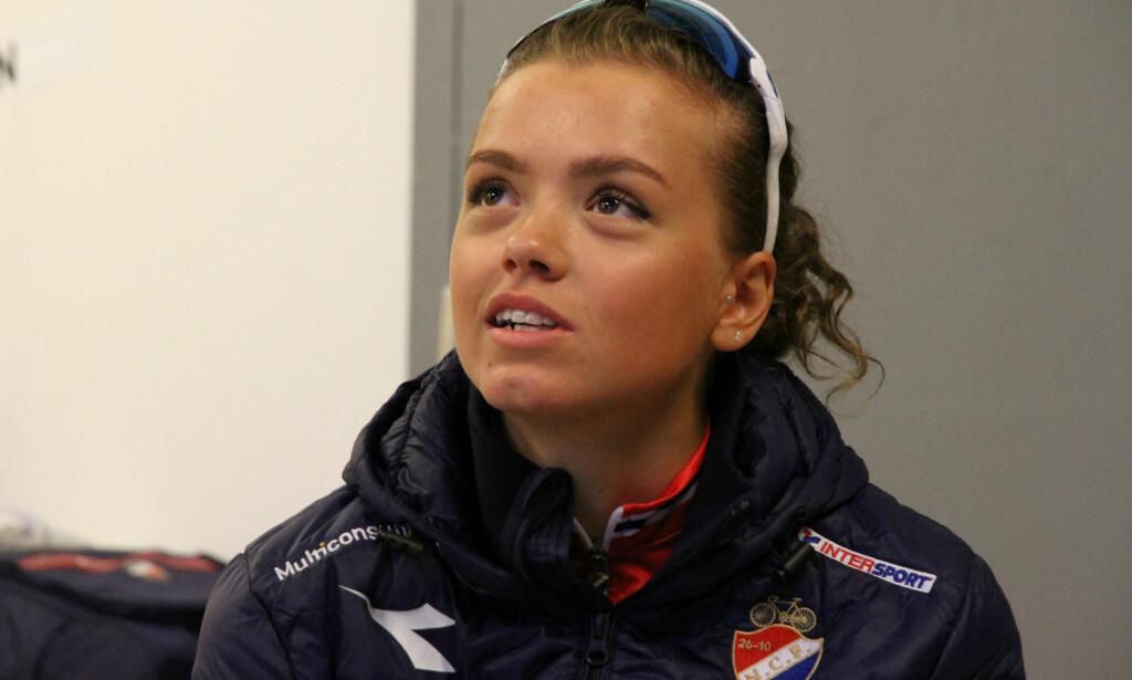 NORSK HÅP: Susanne Andersen gjør allerede elleville ting på sykkelen, og er fremdeles bare 19 år gammel. FOTO: Jarle Fredagsvik, procycling.no
