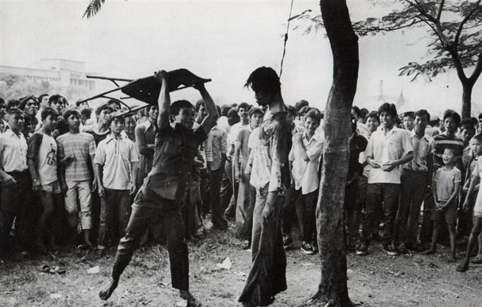 Slaktehuset: Lokale dødsskvadroner og lynsjemobber slaktet ned mistenkte kommunister og alle med «ikke-indonesiske sympatier.» <br>Fotograf ukjent / Fra tidsskriftet Pengetahuan