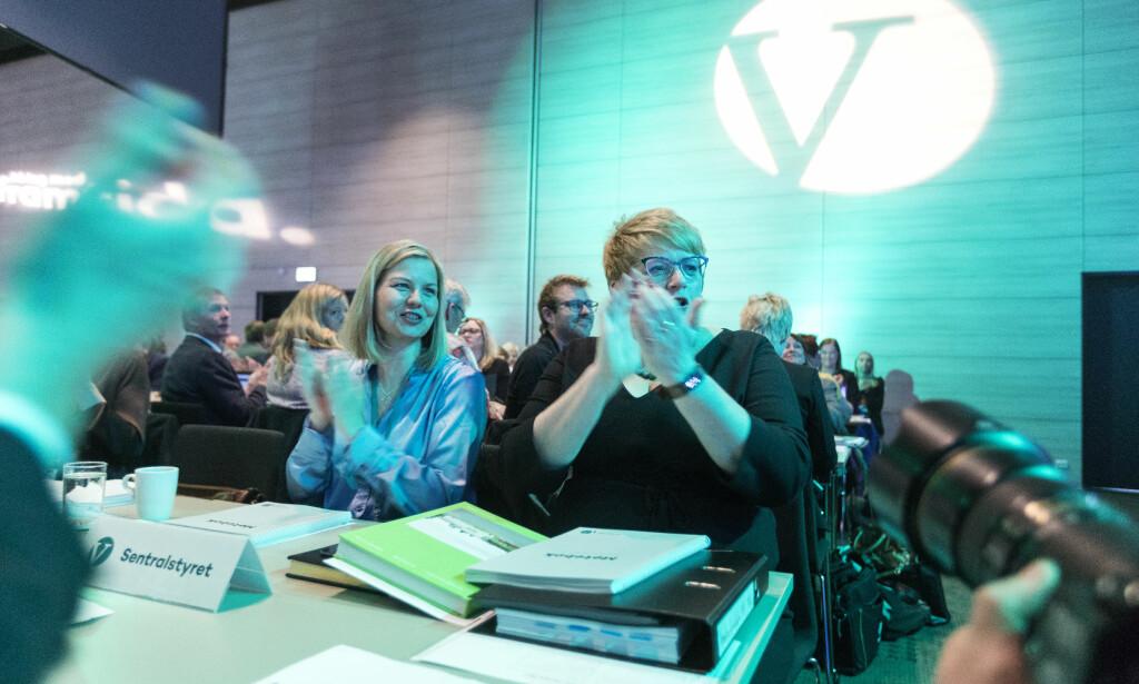 GLAD FOR VEDTAKET: Trine Skei Grande støtter vedtaket om å tillate eggdonasjon for enslige.  Foto: Gorm Kallestad / NTB scanpix
