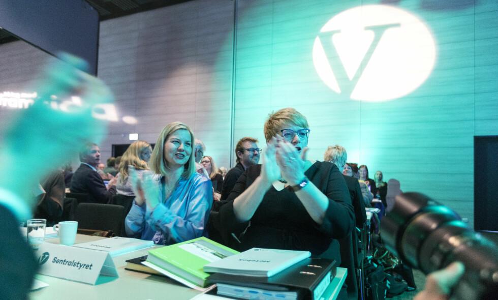 ÅPNET LANDSMØTE: Venstre er i samlet til landsmøte på Jessheim i Akershus denne helga. Foto: Gorm Kallestad / NTB scanpix
