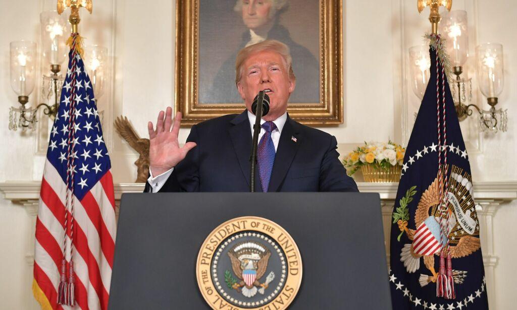 image: Trump beordret angrep mot Syria