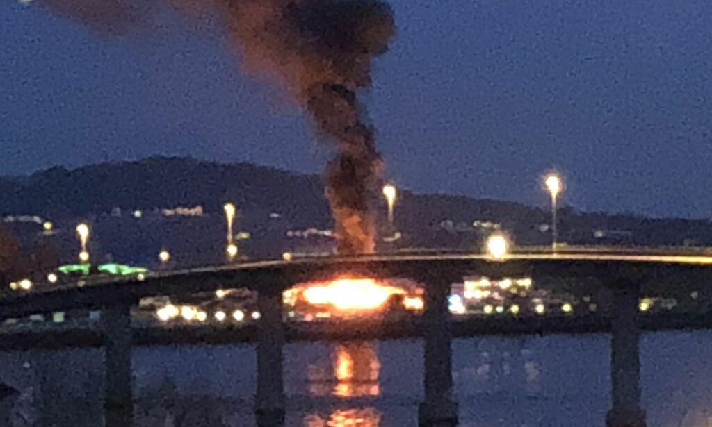 image: - Familie på tre omkom i brann på campingplass